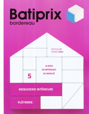 Batiprix 2020 Volume 5 - groupe moniteur - 9782281143621 -