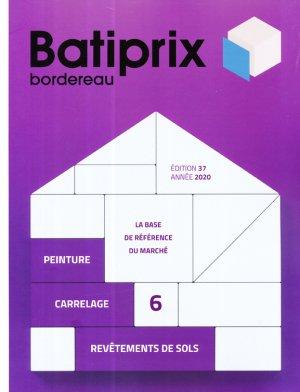 Batiprix 2020 Volume 6 - groupe moniteur - 9782281143638 -