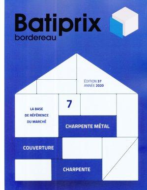Batiprix 2020 Volume 7 - groupe moniteur - 9782281143645 -