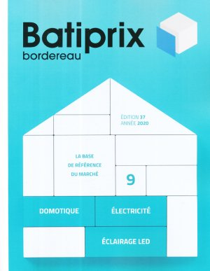Batiprix 2020 Volume 9 - groupe moniteur - 9782281143669 -