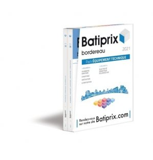 Pack Batiprix Equipement technique 2 volumes 8-9 - groupe moniteur - 9782281144666 -