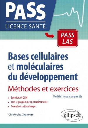 Bases cellulaires et moléculaires du développement - ellipses - 9782340041417 -