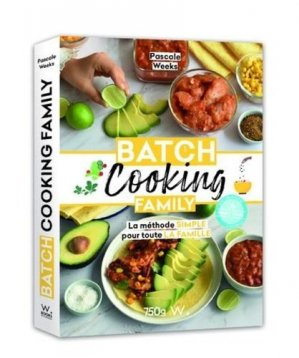 Batch cooking Family - A PRECISER - 9782381840055 -