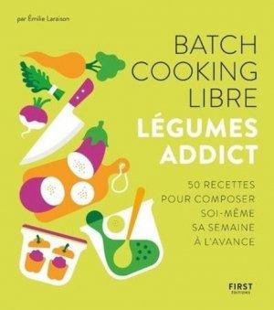 Batch cooking libre - First - 9782412054116 -