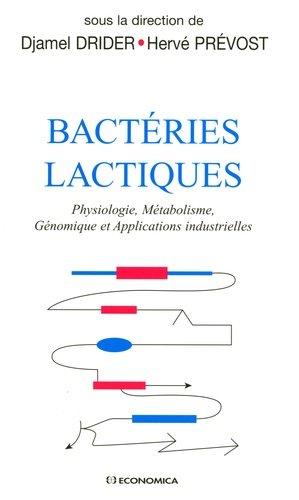 Bactéries Lactiques - economica anthropos - 9782717856767 -