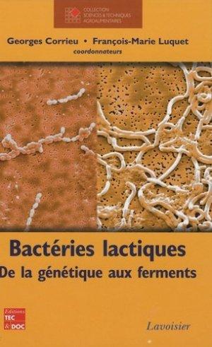 Bactéries lactiques - lavoisier / tec et doc - 9782743010164 -