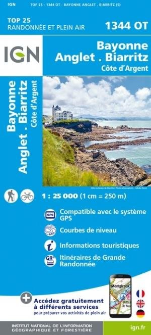 Bayonne, Anglet, Biarritz - Institut Géographique National - 9782758551478 -