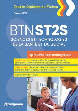 Bac ST2S-studyrama-9782759036868