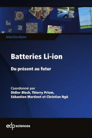 Batteries Li-ion - edp sciences - 9782759823925 -