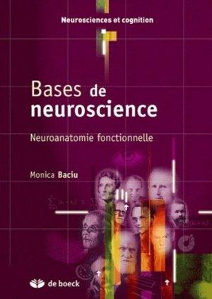 Bases de neurosciences - de boeck superieur - 9782804109622