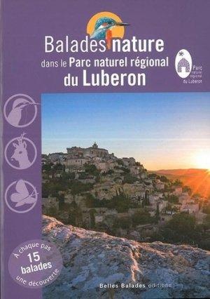 Balades nature dans le parc naturel régional du Lubéron - dakota - 9782846404600 -