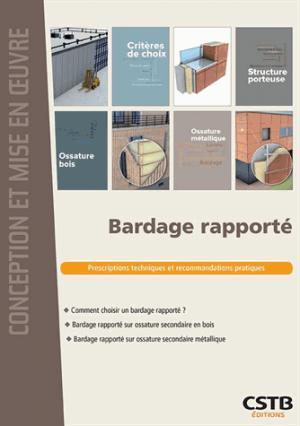 Bardage rapporté - cstb - 9782868916860 -