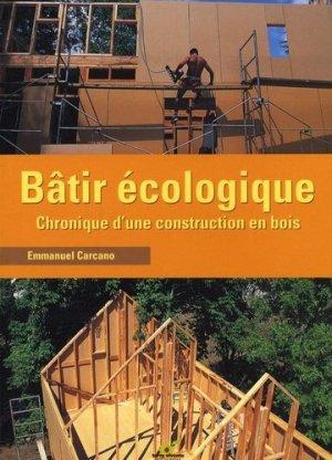 Bâtir écologique - terre vivante - 9782914717298 -
