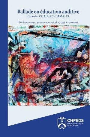 Ballade en éducation auditive - Éditions de l'université de Savoie - 9782919732937 -