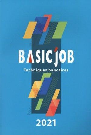 Basic'Job Techniques bancaires - Icédap - 9791033005636 -