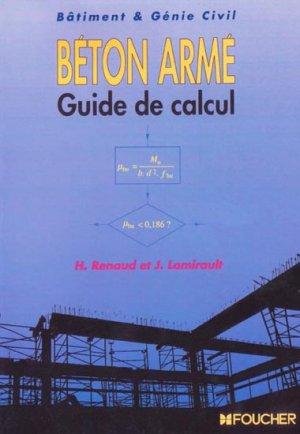 Béton armé - foucher - 9782216016464 -