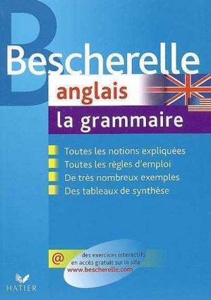 Anglais - La grammaire - hatier - 9782218926198 -