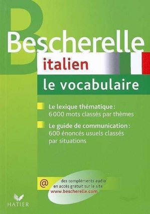 Bescherelle Italien - Hatier - 9782218926259 -