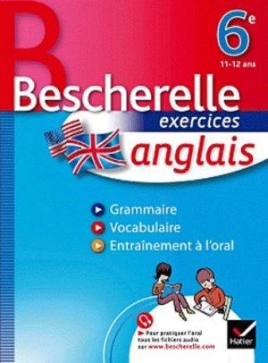 Bescherelle exercices anglais 6e - Hatier - 9782218945519 -