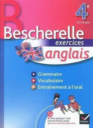 Bescherelle exercices anglais 4e - Hatier - 9782218945533 -