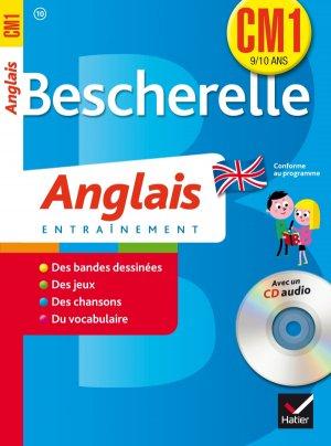 Bescherelle Anglais CM1 avec un CD Audio - hatier - 9782218964688 -