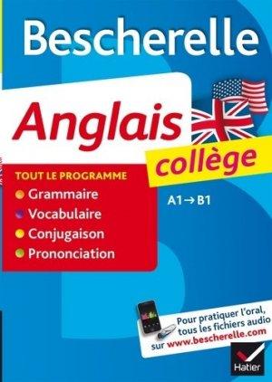 Bescherelle Anglais Collège - hatier - 9782218987533 -