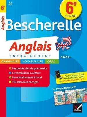Bescherelle Anglais 6e - hatier - 9782218991653 -