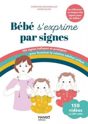 Bébé s'exprime par signes - mango - 9782317025761 -