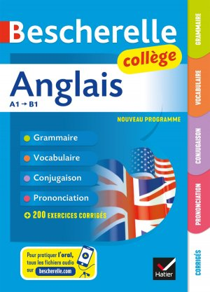 Bescherelle Anglais collège - hatier - 9782401043367 -