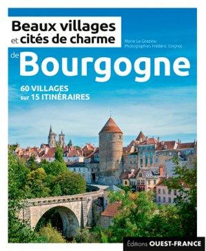 Beaux villages et cités de charme de Bourgogne - Ouest-France - 9782737379369 -