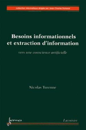 Besoins informationnels et extraction d'information - Hermes Science Publications - 9782746245075 -