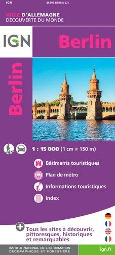 Berlin. 1/15 000 - Institut Géographique National - 9782758536086 -
