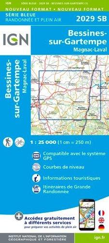 Bessines-sur-Gartempe - ign - 9782758542728 -