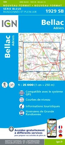Bellac, Adriers - ign - 9782758542926 -