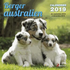 Berger australien : calendrier 2019 : de septembre 2018 à décembre 2019 - artemis - 9782816013085 -
