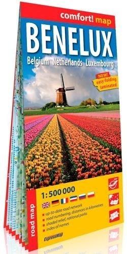 Benelux 1/500.000 Carte grand format - nc - 9788381900867 -