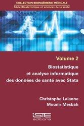 Biostatistique et analyse informatique des données de santé avec Stata - iste - 9781784052171 -