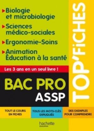 Biologie et Microbiologie - Sciences médico-sociales - Ergonomie - Soins - Animation Éducation à la santé - hachette - 9782011611956 -
