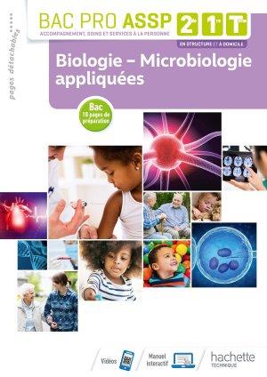 Biologie - Microbiologie appliquées - hachette - 9782017096979 -