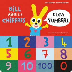 Bill aime les chiffres - gallimard editions - 9782075095358 -