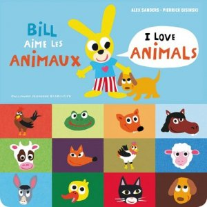 Bill aime les animaux - gallimard editions - 9782075095365 -