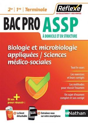 Biologie et microbiologie appliquées Sciences médico-sociales ASSP - nathan - 9782091651378 -