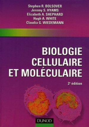 Biologie cellulaire et moléculaire - dunod - 9782100493104 -
