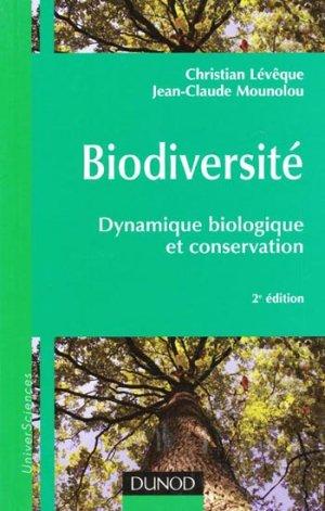 Biodiversité - dunod - 9782100521333 -