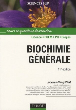 Biochimie générale - dunod - 9782100530106 -