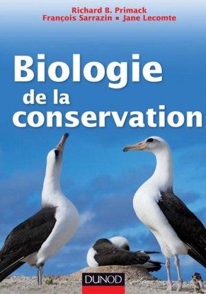 Biologie de la conservation - dunod - 9782100567089 -