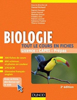 Biologie - dunod - 9782100582235 -