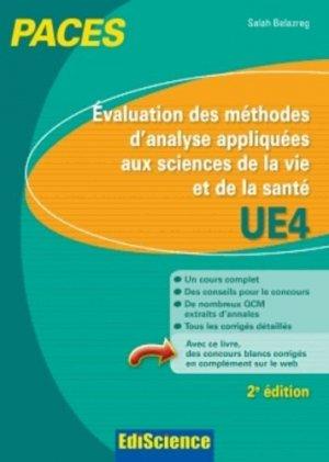 Biostatistiques Probabilités Mathématiques UE4 - édiscience - 9782100598823