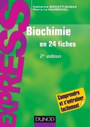 Biochimie - dunod - 9782100721528 -