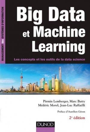 Big Data et Machine Learning - dunod - 9782100754632 -